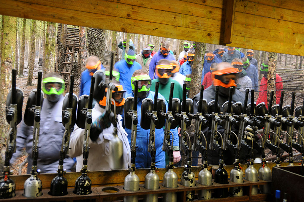 Paintball in den Ardennen