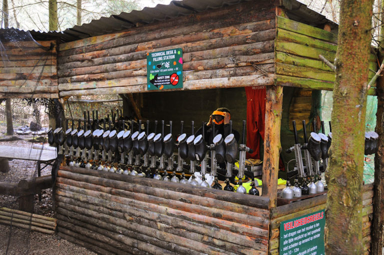 Paintball Outdoor in den Ardennen